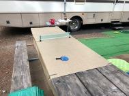 Makeshift ping pong